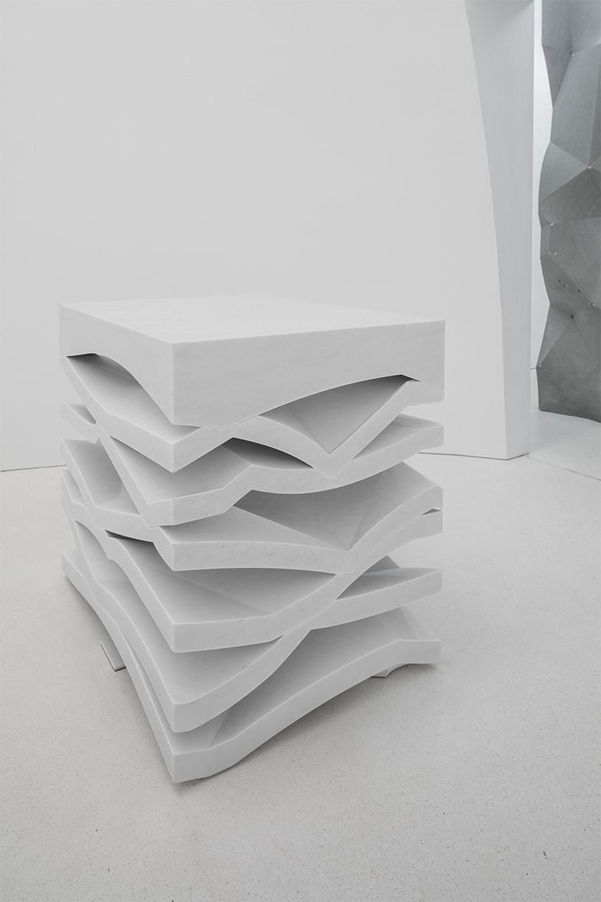 7-teiliger Altar aus Carrara