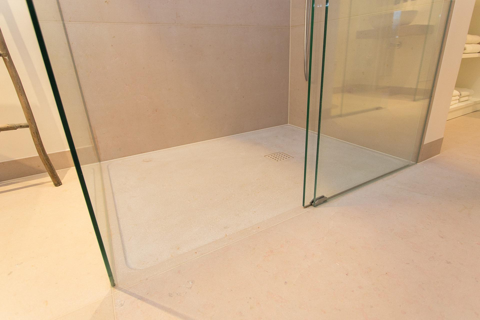 Dusch Glaswand
